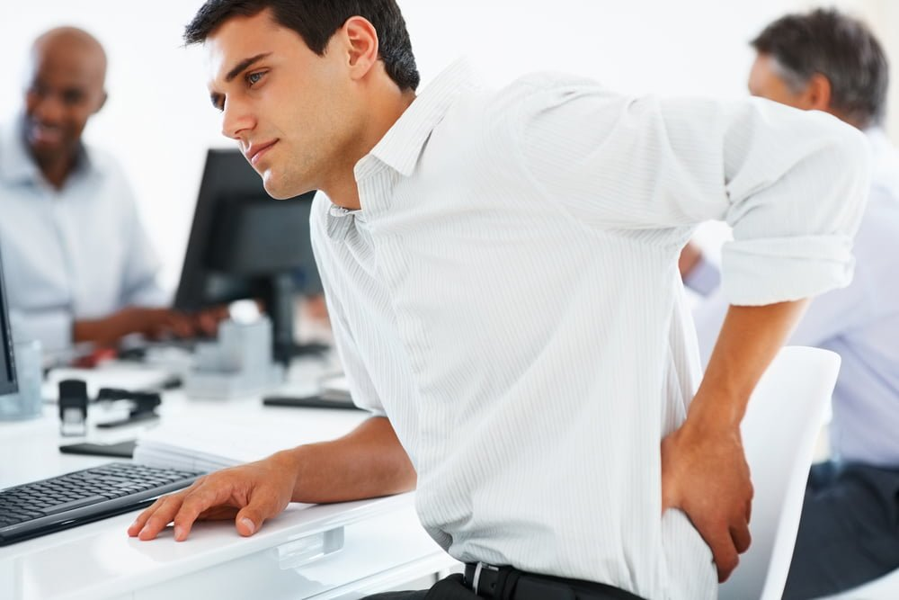 lower back pain from work injury