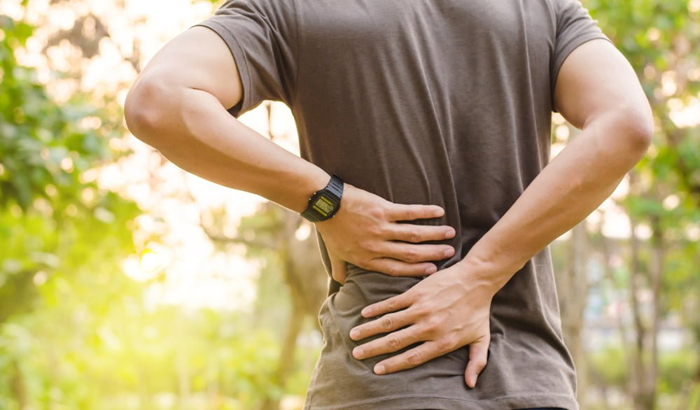 lower back pain from personal injury
