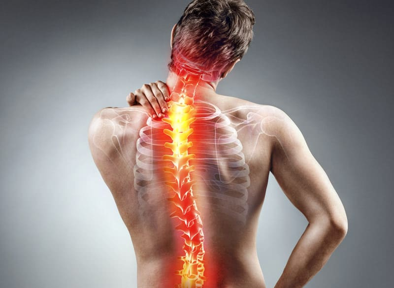 back pain from neuropathy