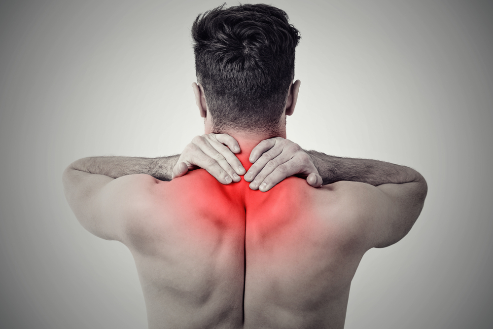 Upper back and neck pain from Fibromyalgia